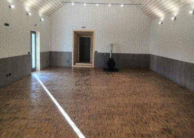 Stavební práce rekonstrukce sálu K.C. Opatovice