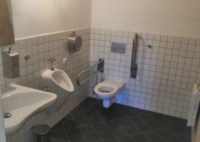 Stavební práce toalety K.C. Opatovice