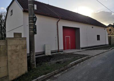 Rekonstrukce hasičárny Malešov
