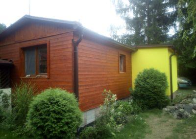 Stavba zahradního domku Vidlák